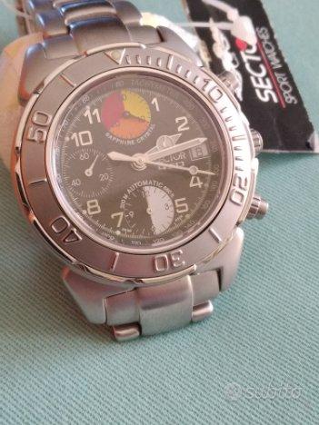 Orologio Sector 450 Automatic Chrono acciaio