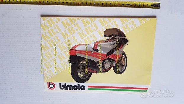 BIMOTA KB3 1000 1983 depliant originale moto epoca