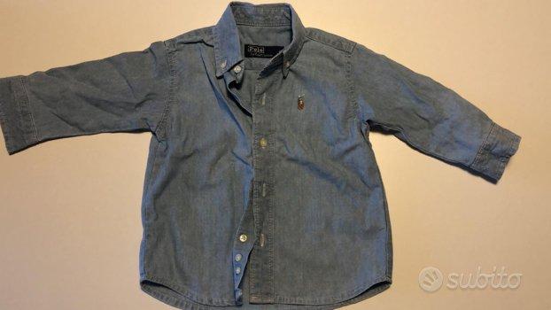 Camicia jeans Ralph Lauren originale
