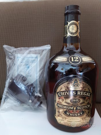 CHIVAS REGAL PREMIUM SCOTCH WHISKY da 3.78 - litri