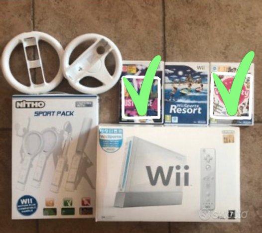 NINTENDO WII - 2 Joystick - Accessori - Wii Sport