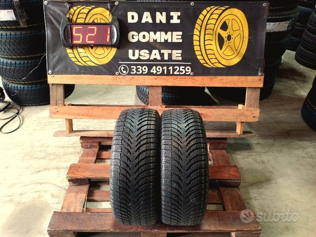 2 Gomme Usate 215 45 16 INVERNALI 85% MICHELIN