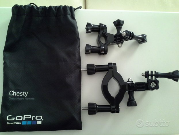 Attacchi snodi e raccordi vari per GoPro