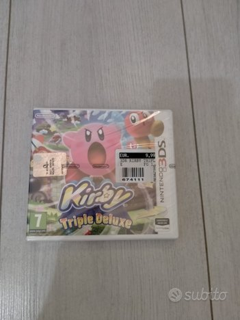 Kirby Triple Deluxe 3ds nuovo