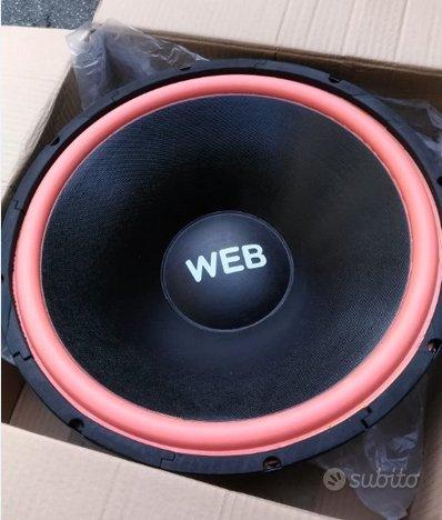 Woofer 800W, Tweeter, altoparlanti auto, accessori