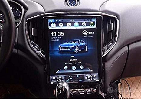 Navigatore maserati ghibli android wifi tesla hd