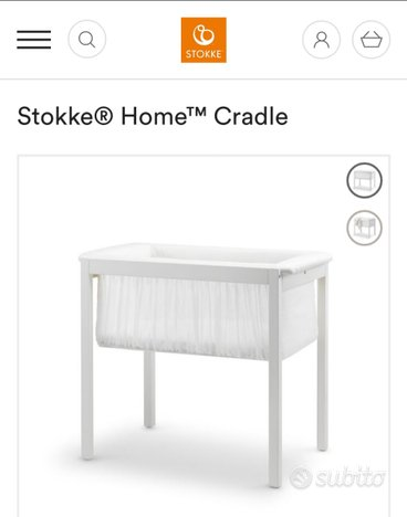 Culla Stokke Home, lettino next 2 me