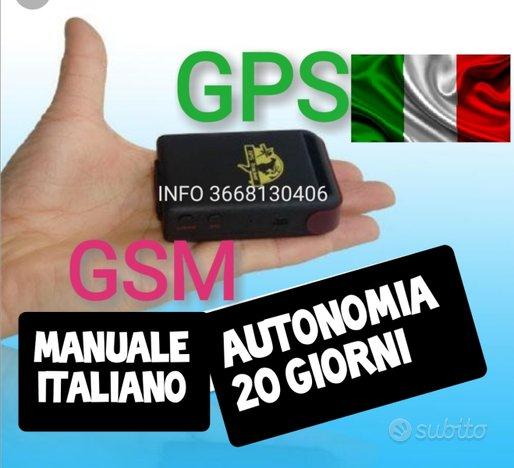 LOCALIZZATORE GPS 20 GIORNI BATTERIA MICROSPIA voc