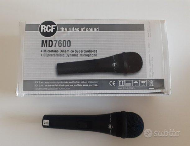 Microfono RCF MD7600
