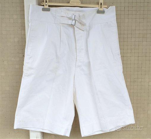 Pantaloncini vintage Servizio Navale della GdF
