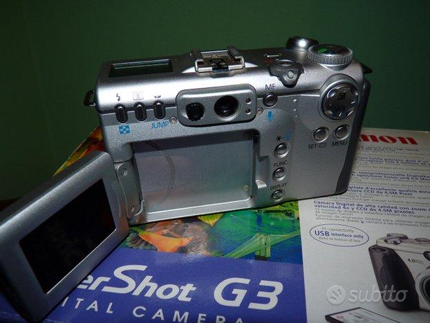 Canon PowerShot G3 + lenti accessorie