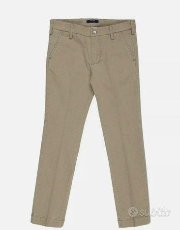 Pantalone bambino Entre amis taglia 10 anni beige