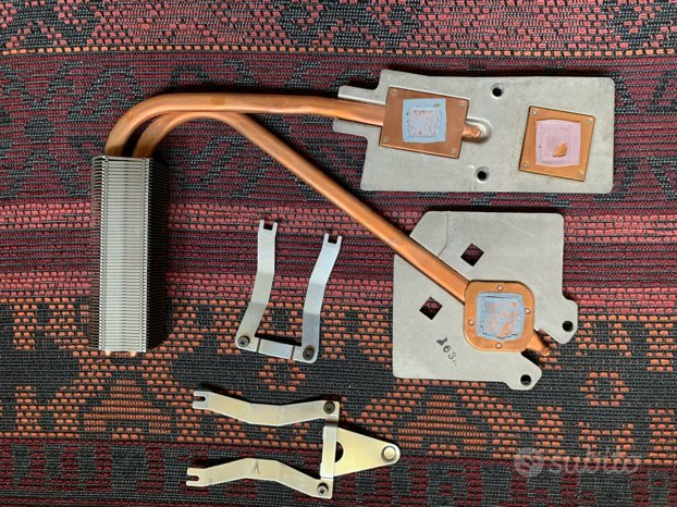 Vari componenti per notebook