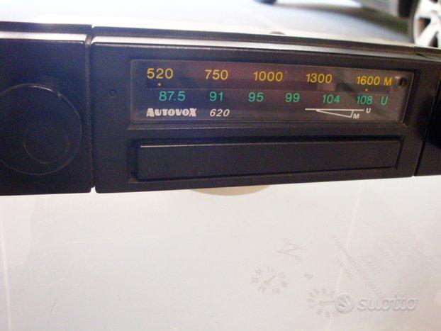 Autoradio Autovox 620 Isotta AMFM 70-80 Auto Epoca