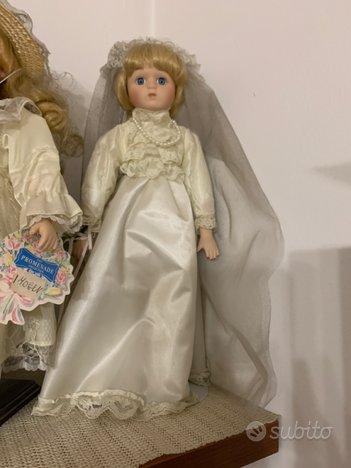 Bambola sposa porcellana The heritage
