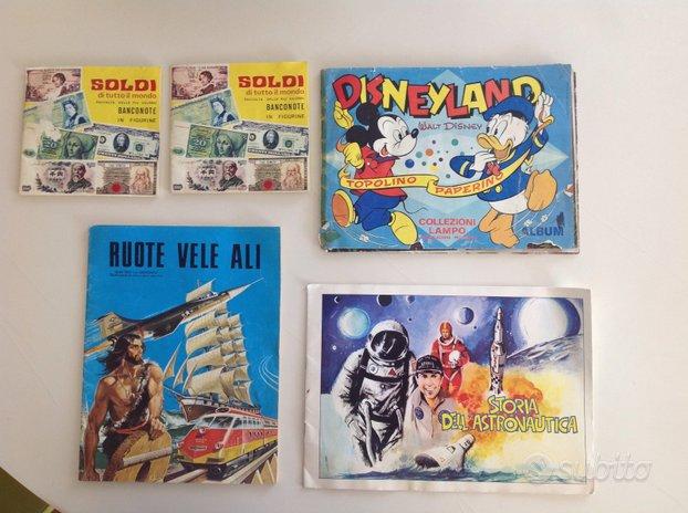 Album figurine lotto di 5 album figurine anni 70