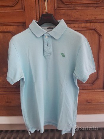 lotto tre polo abercrombie fitch originali tg m