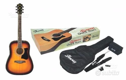 Chitarra Acustica Ibanez v 50 njp e kit - Nuova