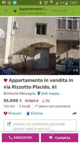 Appartamento Belmonte mezzagno