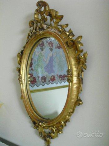 Specchiera ovale antichisssima