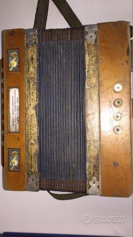 Fisarmonica Diatonica (Organetto) Paolo Soprani 18