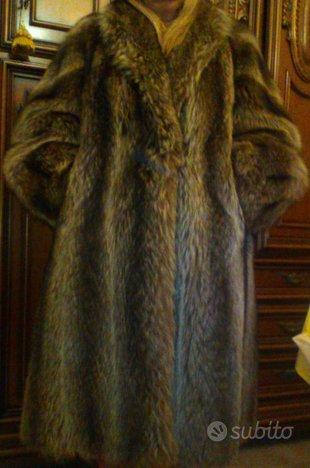 Vera pelliccia di marmotta natutale