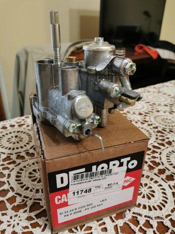 Carburatore SI 24/24 E per vespa PX