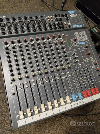 Mixer SOUNDCRAFT Spirit FX8