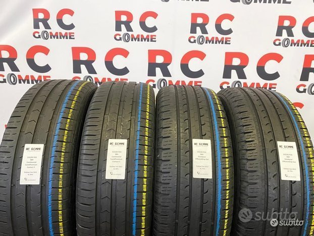4 Gomme Usate 215 65 16 98H