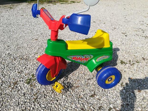 Triciclo bimbi con protezioni