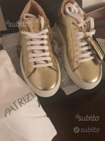 Scarpa sneakers bassa in pelle nuova Patrizia Pepe