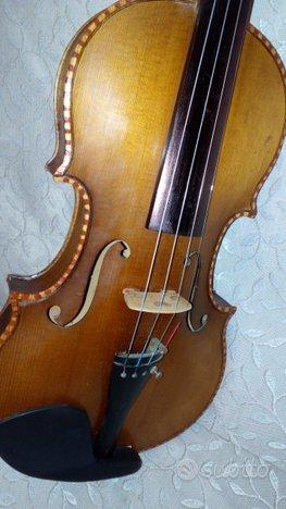 Violino 4/4 vintage decorato