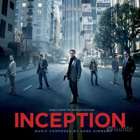 """Vinile Colonna Sonora Film """"INCEPTION"""""""