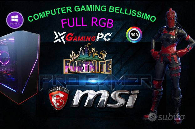 Computer msi gaming full syng