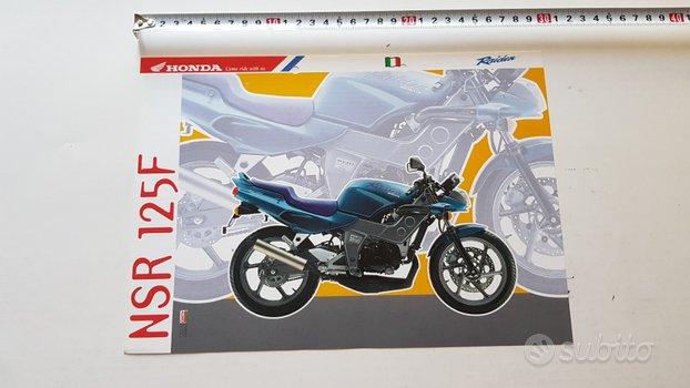 Honda NSR 125 F depliant originale ITALIANO moto