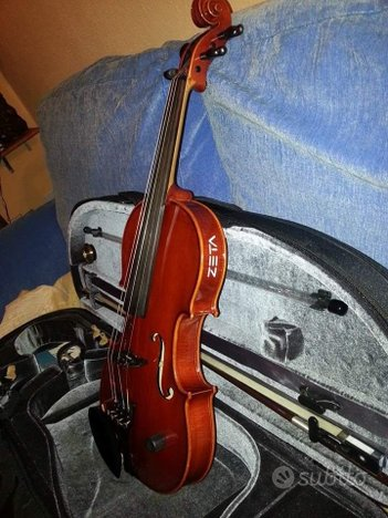 Violino Zeta Acustico Amplificato E-Series 4 corde