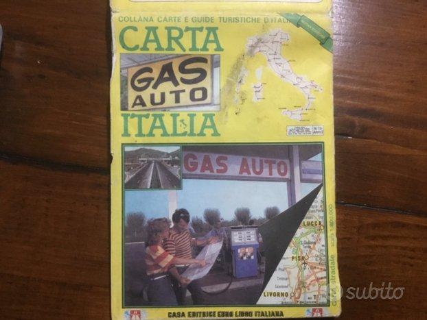 Cartina Italia Capoluoghi Di Regione.Cartina Stradale D Italia E Capoluoghi Di Regione Collezionismo In Vendita A Biella