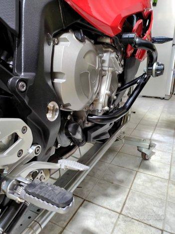 Carrello porta moto per spostamenti in box