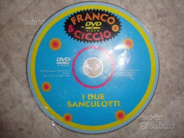 Dvd Franco Ciccio I due Sanculotti FabbriOriginale
