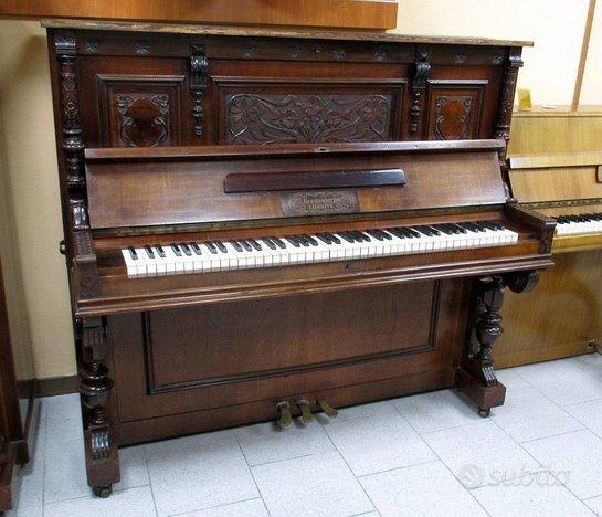 J. Gerstenberger pianoforte acustico verticale