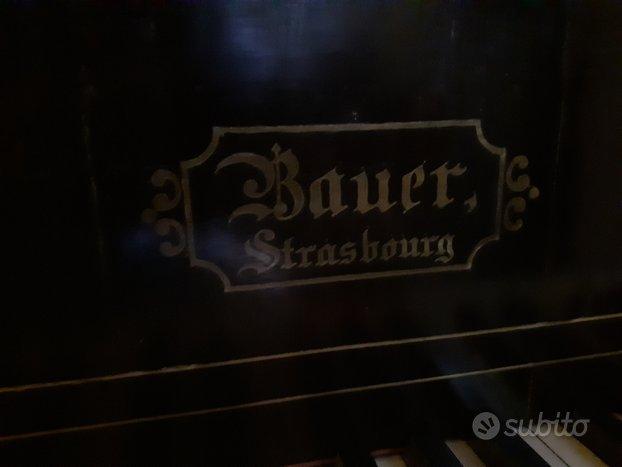 Pianoforte vintage da restaurare fine 800