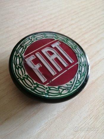 Logo FIAT tappo mozzo cerchio d epoca