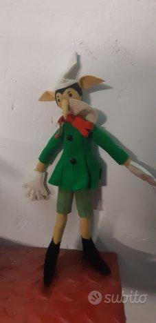 Pinocchio in panno anili
