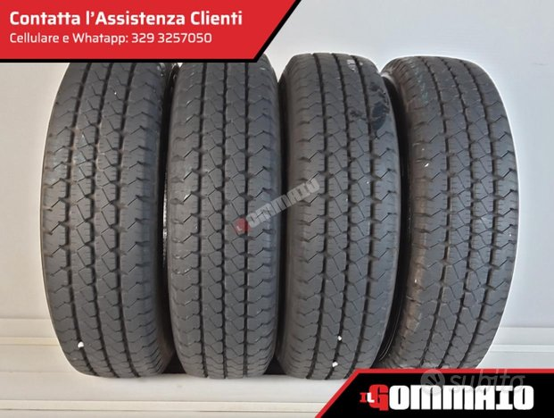 Gomme usate K GOODYEAR 185 75 R 14 C ESTIVE