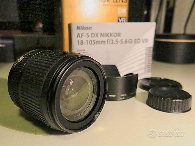 Zoom Nikon AF-S DX 18-105 mm f/3.5-5.6 G ED VR