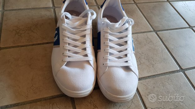 Scarpe fred perry tg 42 bianche