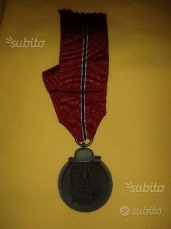 Originale medaglia fronte orientale ww2