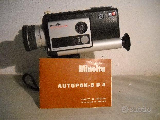Cinepresa Minolta Autopak-8 D4, 8 mm film