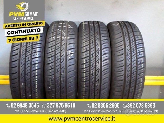 Gomme usate: 165 60 14 barum