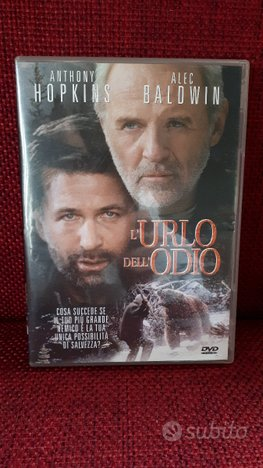 Dvd L'URLO DELL'ODIO - Ex noleggio